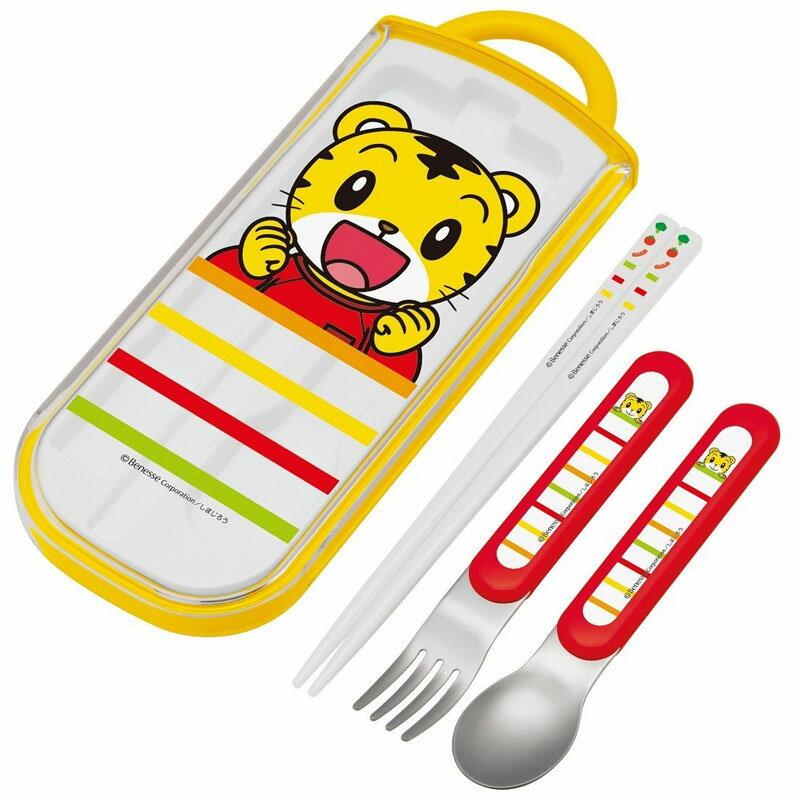 巧虎 巧连智 日本制 餐具组 正版商品 儿童餐具 筷子 汤匙 刀叉