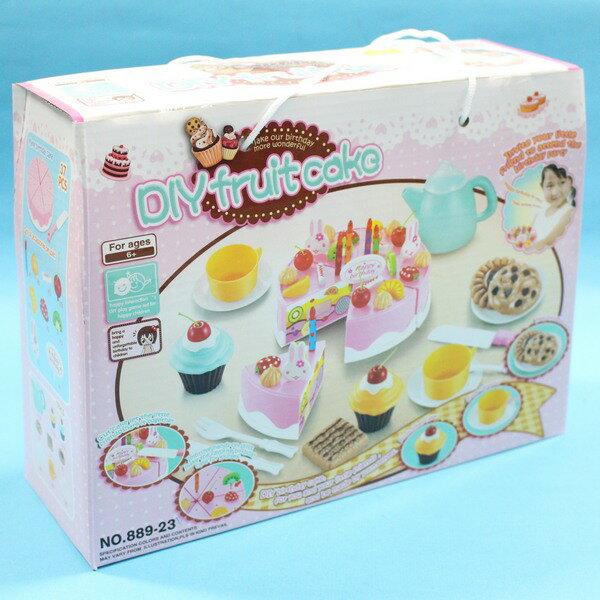 生日蛋糕切切樂 889-23 大手提盒切切樂/一盒入{促350}~生