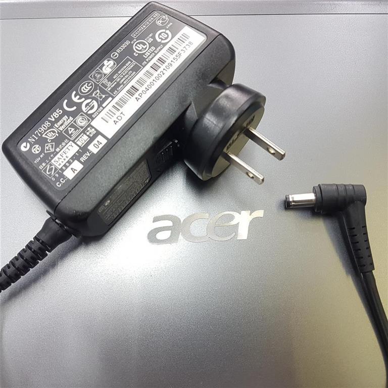 ACER 40W 扭頭 原廠規格 變壓器 Aspire One 721 722 725 751 751H 752 753 756 D150 D210 D250 A150 D250 D255 D255E D255 532h-2730 532h-2588 532h-2527 V3-532  V3-572 Z5WAH A110 A110L A110X A150 A150L A150X A150 NAV70 NAV80 D270 E100 P531 P531F Pro531 PAV70 PH531 ZA3 ZG5