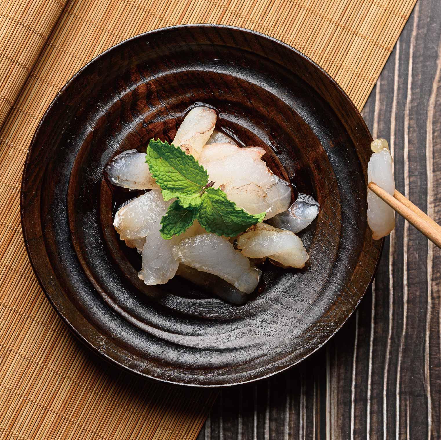 【晉元生鮮美食專賣店】特選鮮甜蟹管肉【110公克】