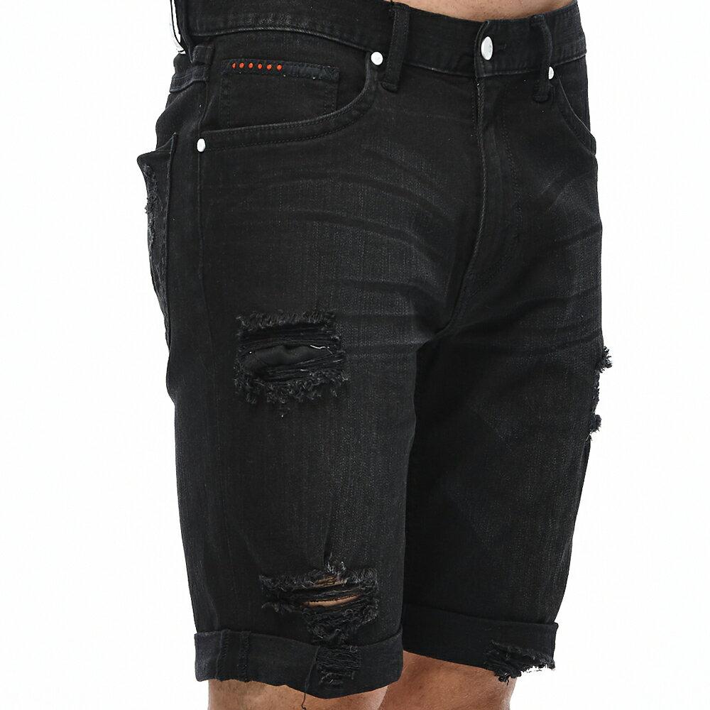 ❤ 短褲$990❤ Lee 牛仔短褲-男款-黑 7
