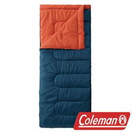 Coleman 表演者II海軍藍睡袋/C5 封型睡袋 化纖睡袋 CM-27262