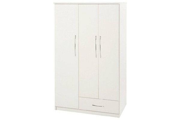 【石川家居】826-01白色衣櫥(CT-107)#訂製預購款式#環保塑鋼P無毒防霉易清潔