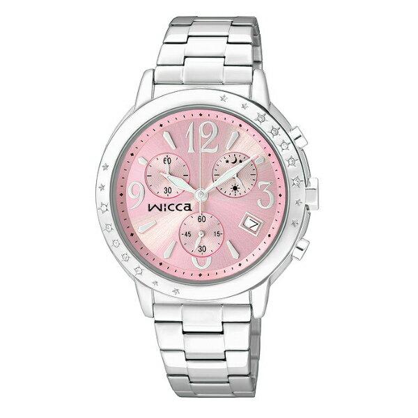 WICCA施華洛世奇時尚水晶腕錶