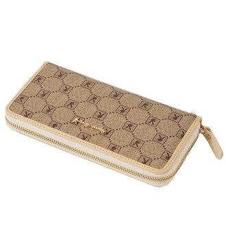 【橘子包舖】長夾 PLAYBOY 經典格紋單拉鏈錢包 [A13-003] 男女通用手拿包