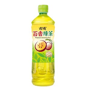 古道 百香綠茶 600ml