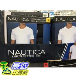 [COSCO代購] C1190065 NAUTICA MEN CREW NECK TEE 男軹短袖T恤三入組 美國尺寸:S-L
