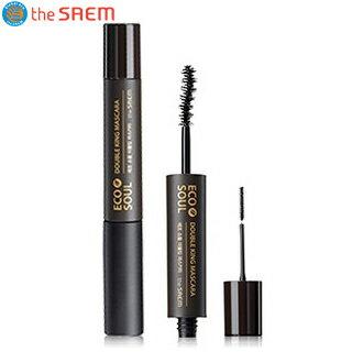 韓國the SAEM Eco Soul 雙頭睫毛膏 01-6ml+2.5ml Eco Soul Double King Mascara 01 black 【辰湘國際】