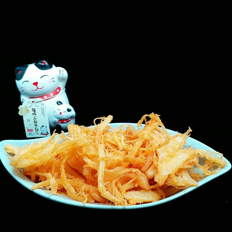 【東港漁霸】泡菜魷魚絲 --- 120克(包) 泡菜魷魚絲  / 休閒食品 / 零嘴