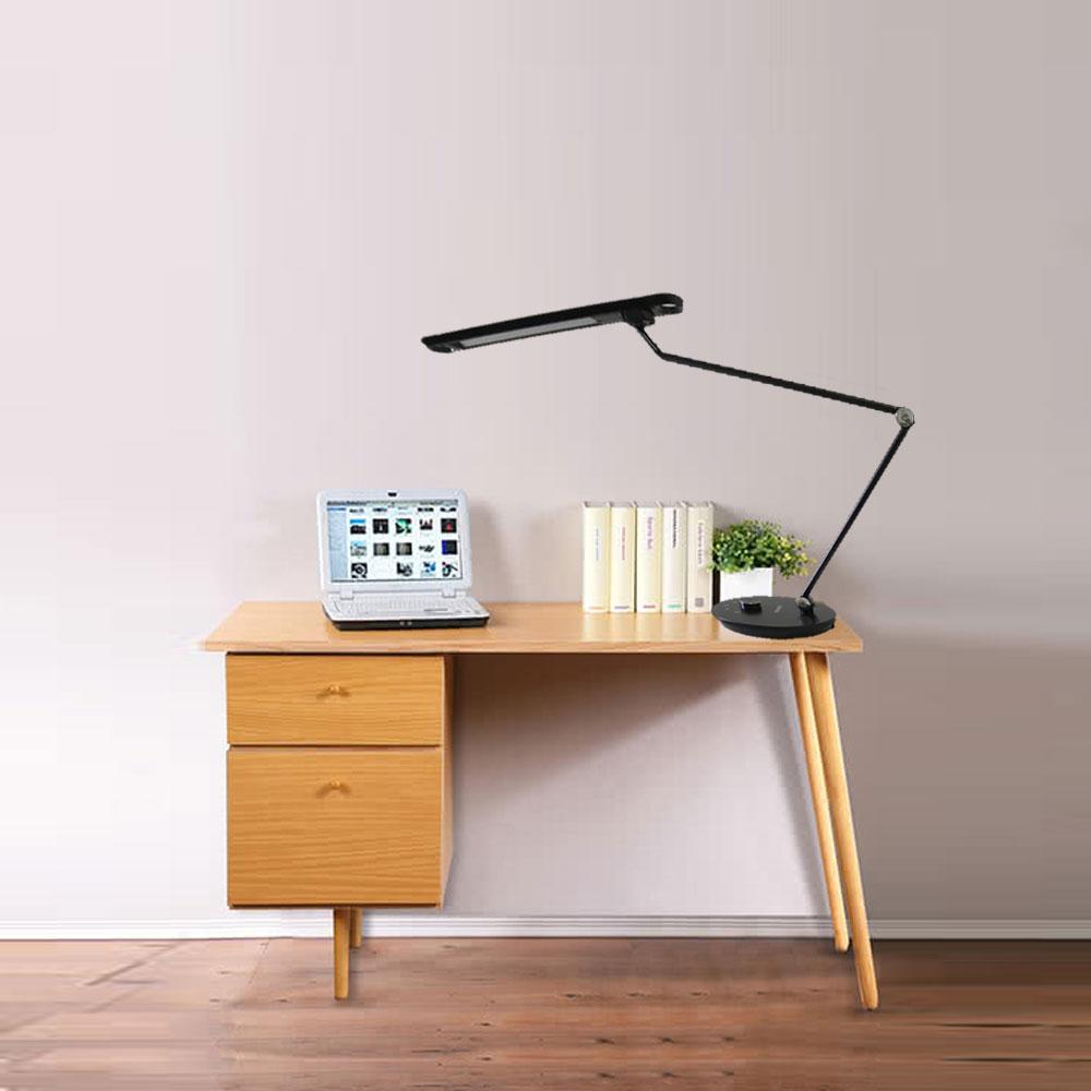 威剛 / 黑武士 LED 12W 檯燈 閱讀燈 桌燈 可任意調整色溫 /  /  永光照明JE0-AL-DKDE710-12W27-65CB 0