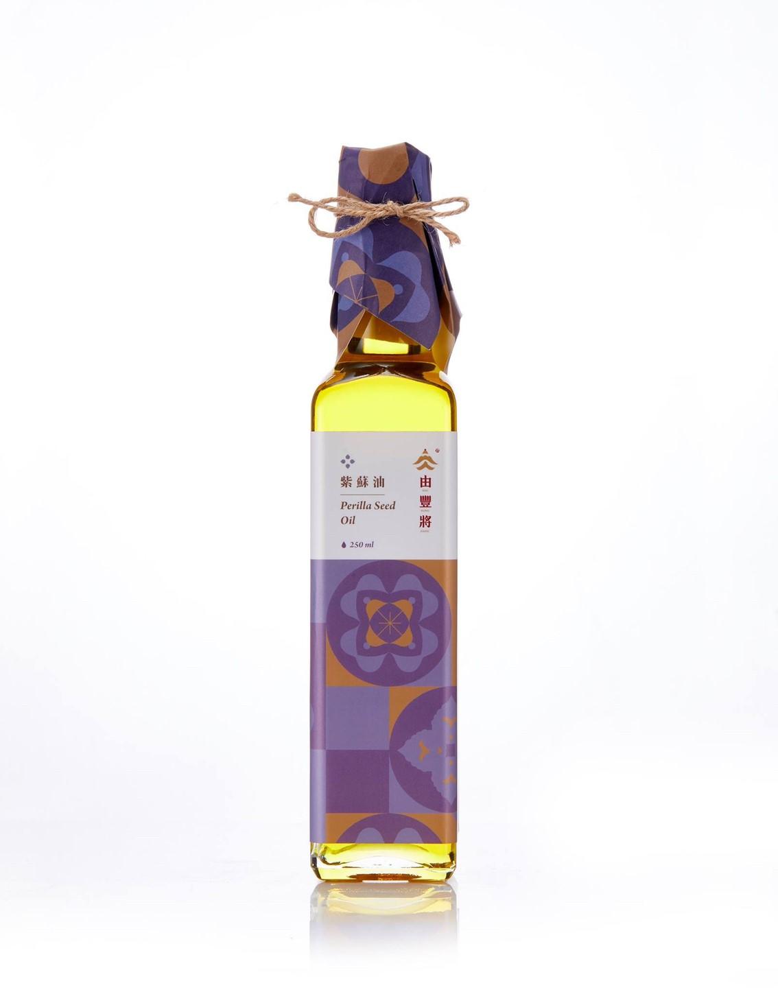 【由豐將】冷壓初榨-清香而高雅的紫蘇油