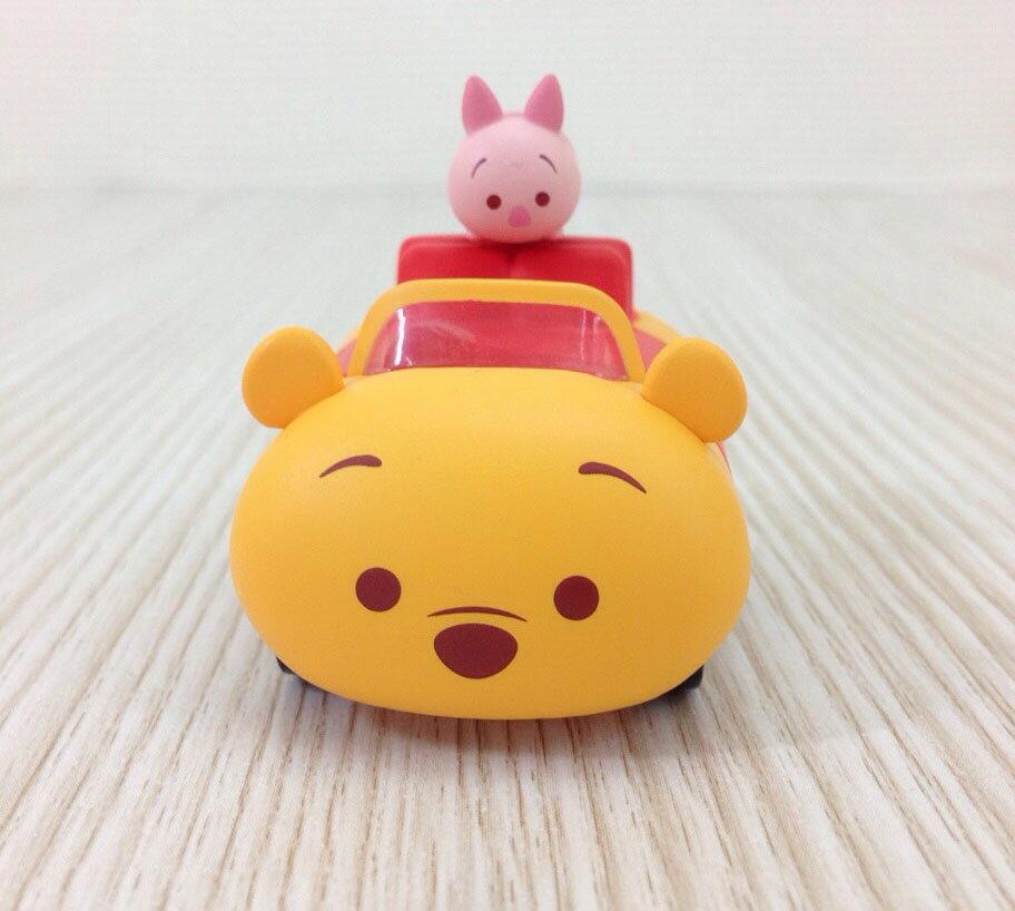 【真愛日本】15101400003 阿Q車MIX-維尼 迴力車 TAKARA TOMY 小車 收藏 迪士尼 小豬