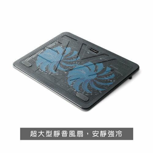 *╯新風尚潮流╭*JetArt CoolStand Ultra 超靜音筆電散熱器 NPA160