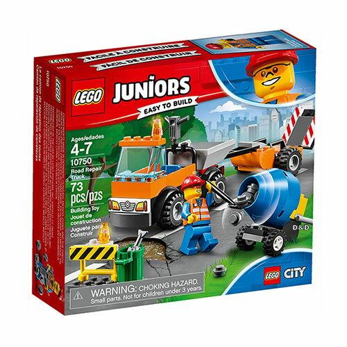 樂高積木 LEGO《 LT10750 》2018 Junior 初學級系列 - Road Repair Truck