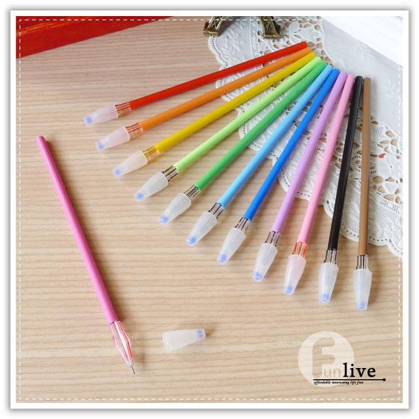 【aife life】亮彩筆芯筆/彩色原子筆/極細原子筆/糖果色原子筆/中性筆/文具用品/彩色筆