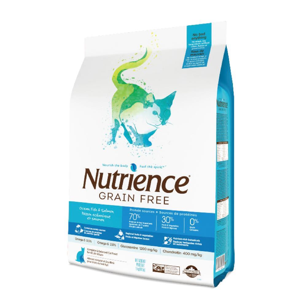 Nutrience 紐崔斯 無穀養生貓-六種魚1.13kg Grain Free無穀養生系列