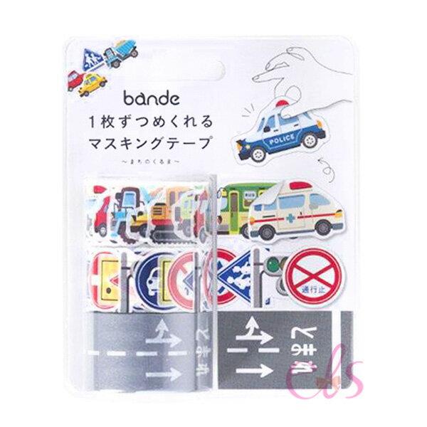 艾莉莎ELS:日本bande和紙貼紙交通工具系列都市中的工具車☆艾莉莎ELS☆