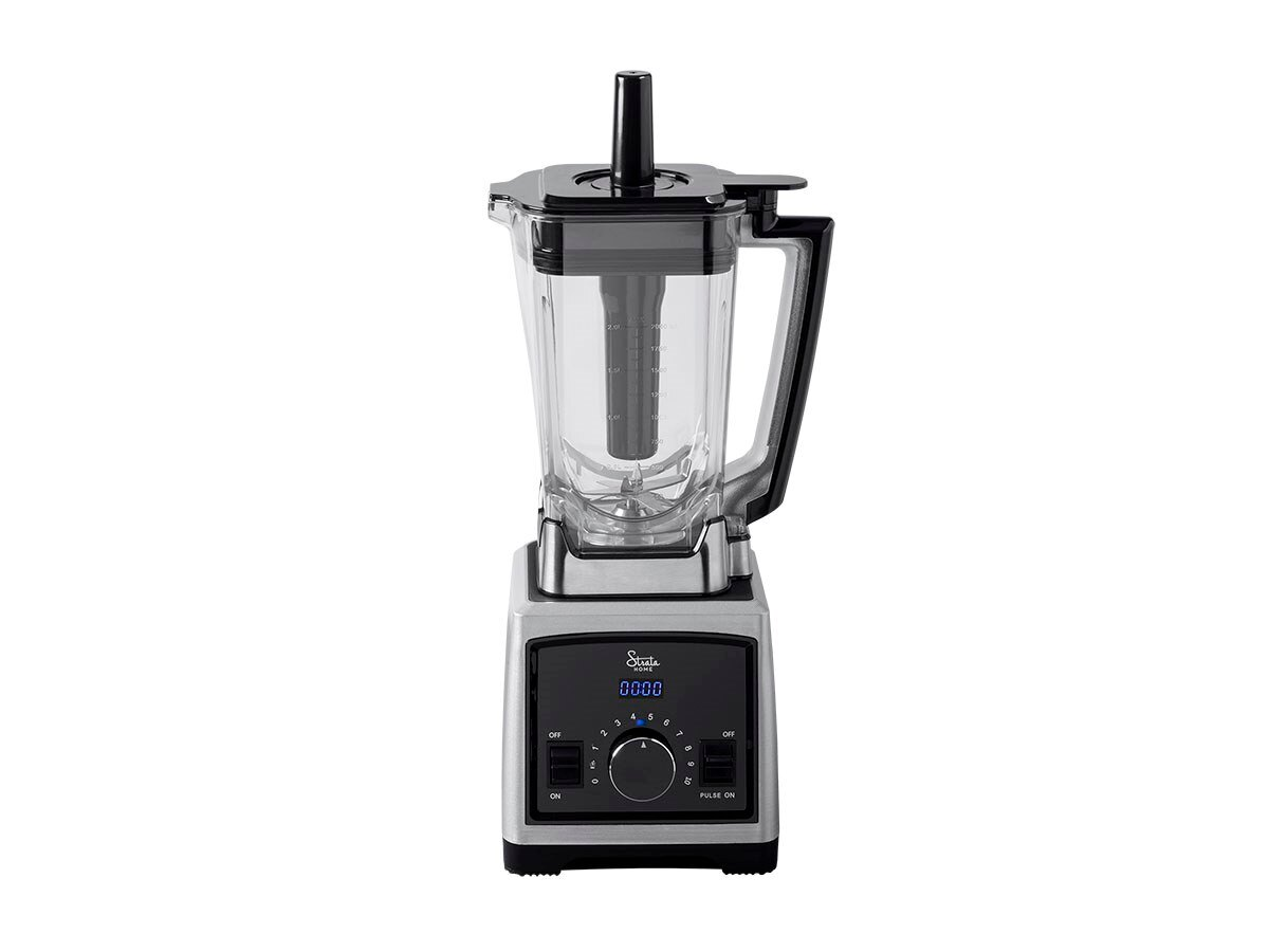 Monoprice Pro High Powered Blender With 6 Stainless Steel Blades, 2 Liter Capacity, 1450 Watts, 25000 rpm Motor, BPA Free And Dishwasher Safe From Strata Home Collection 2