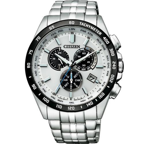 CITIZEN 星辰 CB5874-90A 質感優越電波光動能腕錶