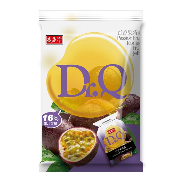 《盛香珍》Dr. Q 百香果蒟蒻 420gX10包入(箱)
