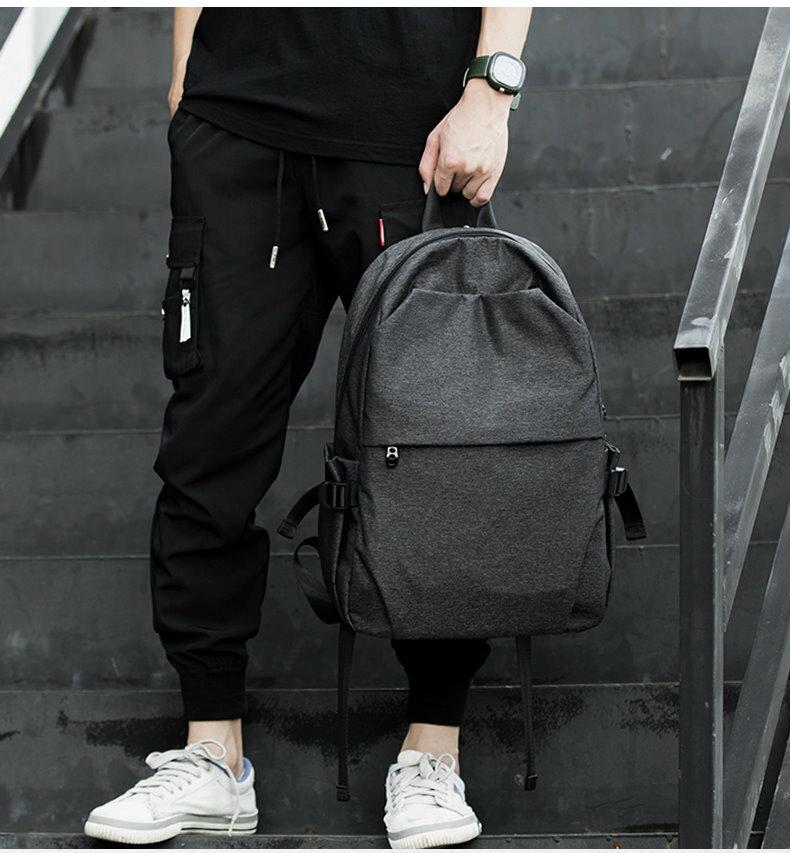 ㊣木村井泓 造型防潑水後背包  (G0225) 尼龍後背包 筆電後背包 電腦後背包 雙肩包 15.6吋
