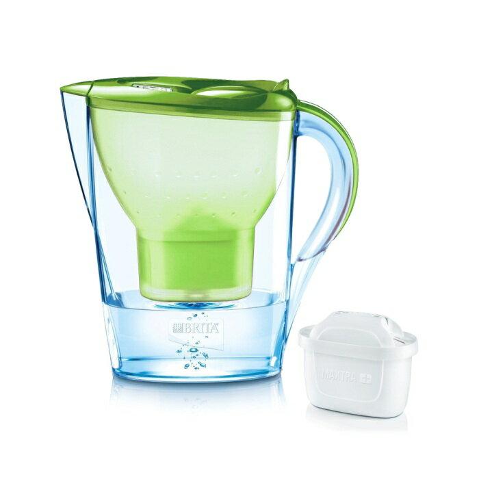 【BRITA】德國進口 Marella 馬利拉淨水器/淨水壺/濾水壺 3.5L(內含1支濾芯)(蘋果綠)