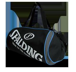 [陽光樂活=]SPALDING 斯伯丁籃球 二顆裝休閒兩用袋 行李收納袋 手提袋 SPB5311N91黑灰