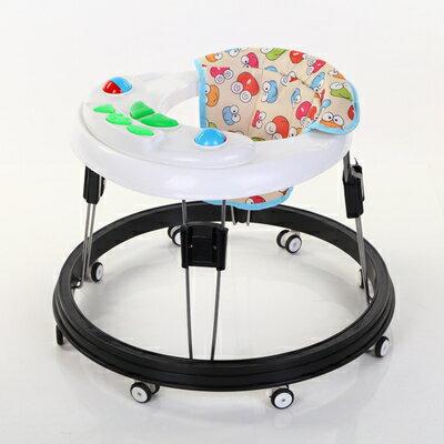 學步車-嬰兒童學步車6 / 7-18個月多功能防側翻男女寶寶手推車可折疊帶音樂 1