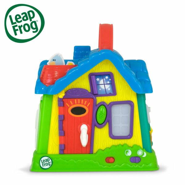 YODEE 優迪嚴選:LeapFrog美國跳跳蛙我的成長小屋兒童學習玩具早教玩具(適合6個月以上)