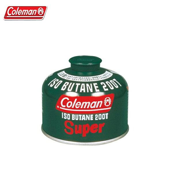 【露營趣】ColemanCM-K200J高效能極地瓦斯罐230G高山瓦斯蜘蛛爐飛碟爐雙口爐瓦斯燈可用