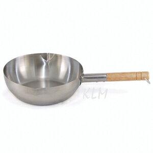 304不銹鋼 雪平鍋(厚,加長) 台製 22cm(協)