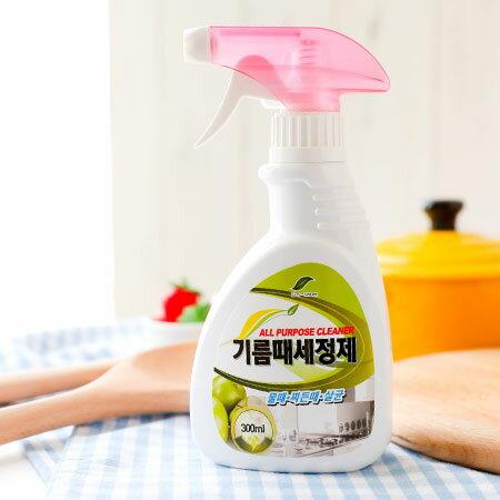 韓國 橘子博士精油除臭萬用清潔劑 300ml 清潔劑 廚房 浴室 汙垢 清潔 微波爐 洗碗槽 烤箱 鍋具【N202751】