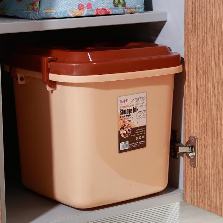 米桶 裝米桶無縫密封防蟲防潮塑料米缸面粉箱儲糧桶WY706