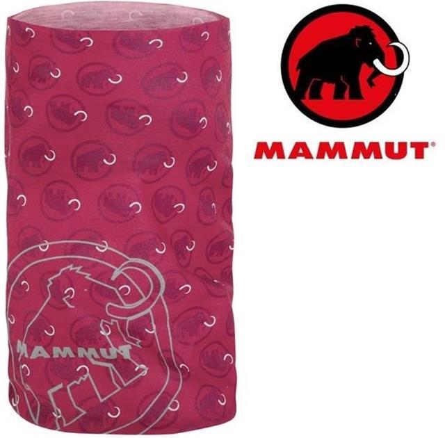 Mammut 長毛象 透氣排汗頭巾 Zion 1090-03591 3422洋紅