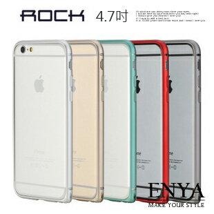 iPhone6  6S 4.7吋  ROCK金屬框硬殼 ^(郵寄^) Enya恩雅