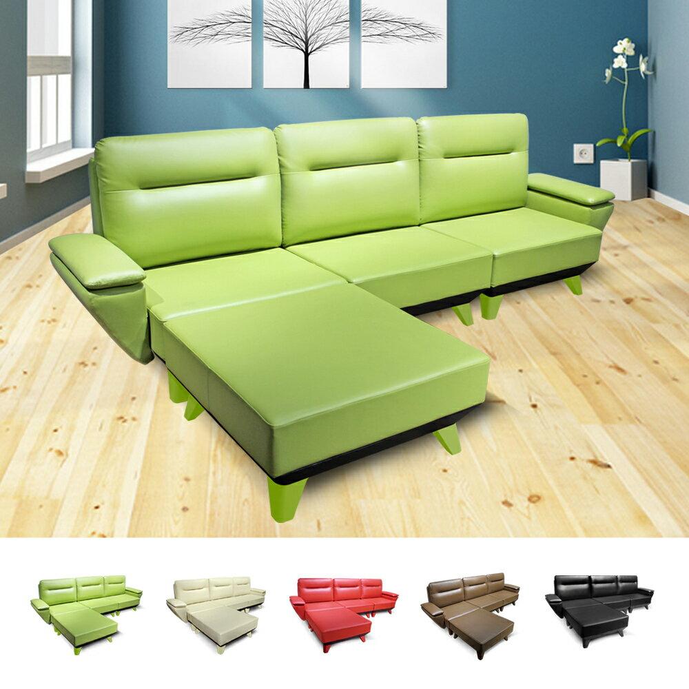 +mofa獨立筒沙發大氣典雅款-3L(扶手)