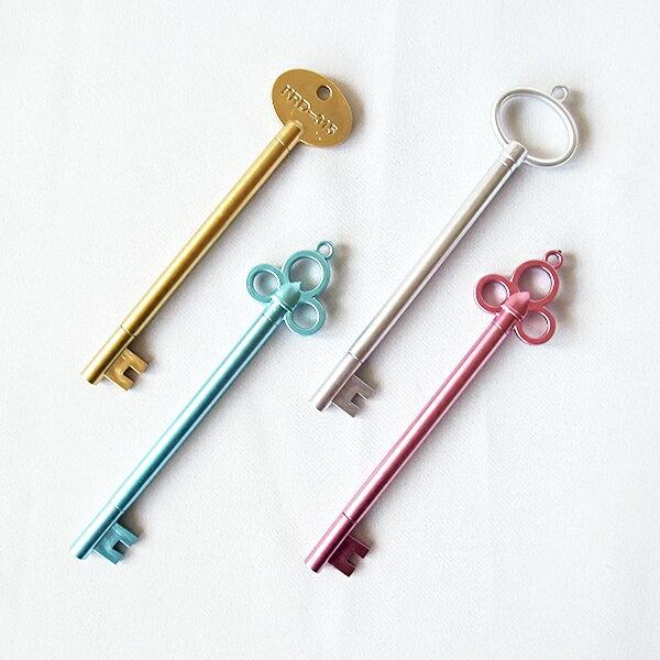 【aifelife】鑰匙中性筆創意復古鑰匙造型中性筆黑色水性筆簽字筆可愛辦公學生文具商務活動贈品禮品