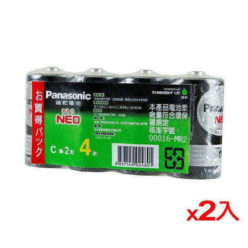<br/><br/>  ★2件超值組★國際牌 碳鋅電池2號 4入/組【愛買】<br/><br/>