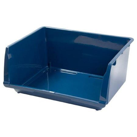 宜得利家居:堆疊收納籃FLATTEK-BL藍色NITORI宜得利家居
