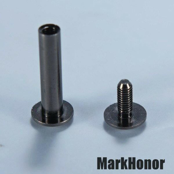 鑰匙圈 汽車鑰匙包 對接螺釘 銀白色  -Mark Honor