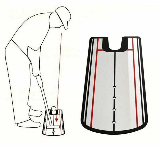 新一代 高爾夫 推桿練習鏡 姿勢糾正鏡 20603
