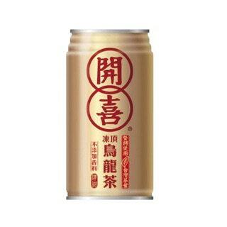 開喜烏龍茶(微糖) 340ml x 24瓶 烏龍茶 冷泡茶 罐裝茶 開喜 (HS嚴選