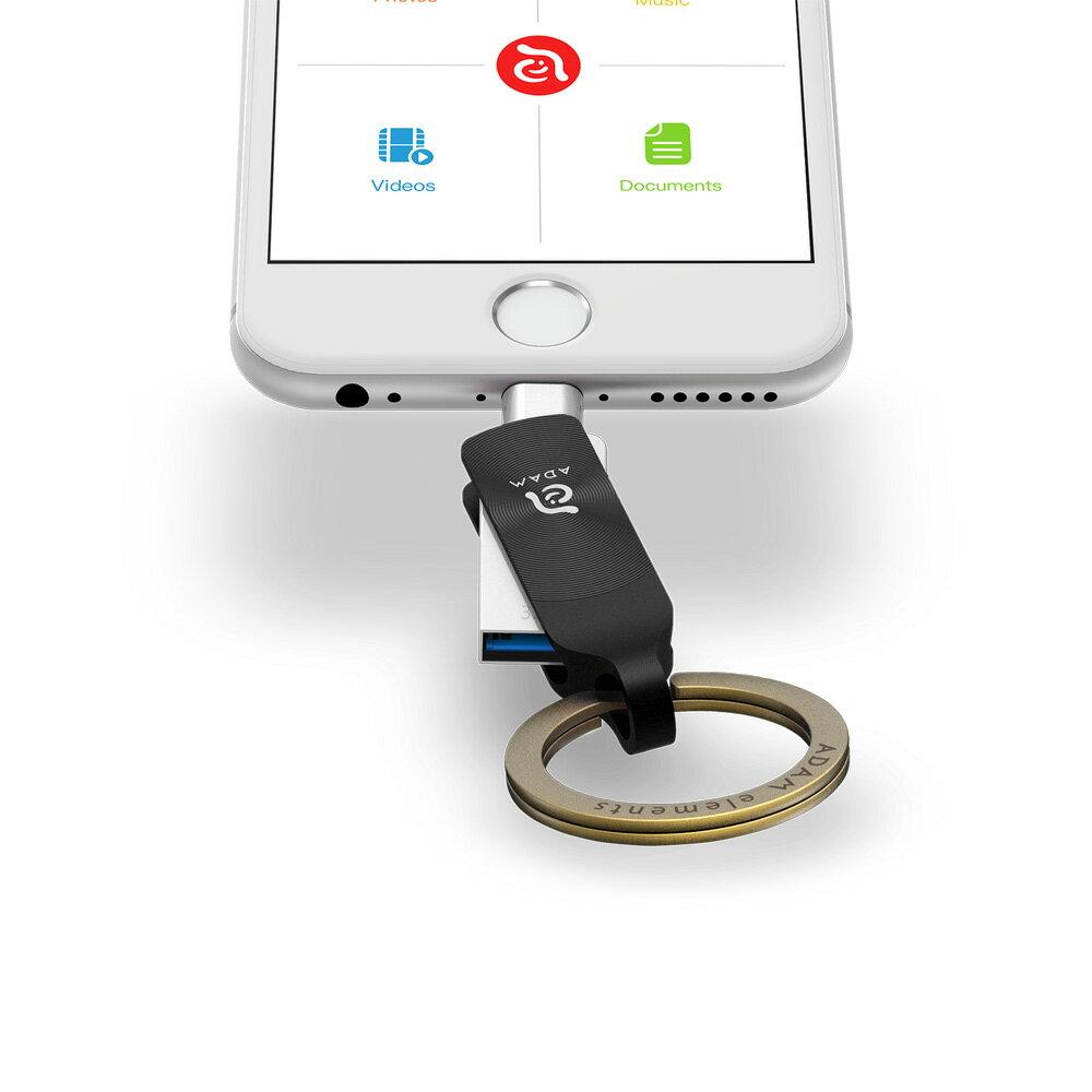 iKlips DUO + Apple 專用雙向USB 3.1 極速多媒體行動碟 32GB【亞果元素】 蘋果/APPLE/手機/3C/iPhone/儲存/隨身碟/輕便 5