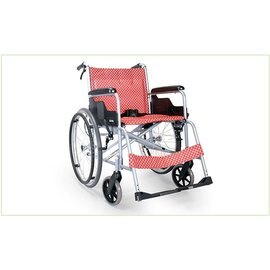 康揚karma SM-100.2 入門基本系列 輕量移位型手動鋁合金輪椅 輪椅-B款(輕量化量產型)補助 贈品 光星NOVA N031M 木拐