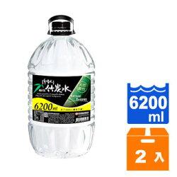 味丹 多喝水 鹼性竹炭水 6200ml (2入)/箱
