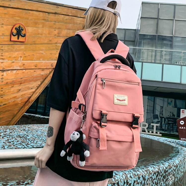後背包 初中生書包女韓版高中原宿ulzzang中學生大容量2020年新款後背包SUPER SALE樂天雙12購物節