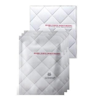 素晴館 Ludeya 21天微臻淨白生物纖維面膜 Selina代言 (淨白款;白色)(3片/盒)