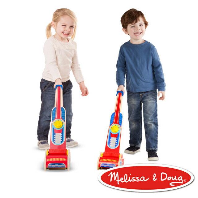 美國瑪莉莎 Melissa & Doug角色扮演 - 木製吸塵器