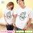 T恤 情侶裝 客製化 MIT台灣製純棉短T 班服◆快速出貨◆獨家配對情侶裝.雪人【Y0774】可單買.艾咪E舖 1