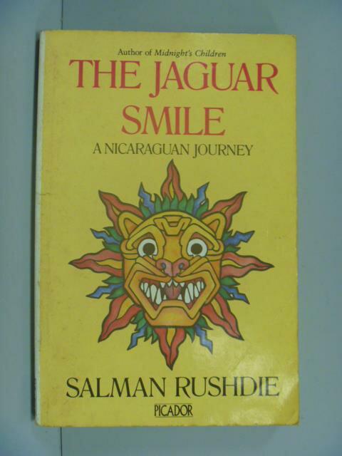 【書寶二手書T1/原文小說_GBQ】Jaguar Smile _Salman Rushdie